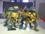 My Ninja Turtles figures by conkeronine