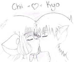 Chii and Kyo by sphinx-face