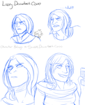Maddi Sketch Dump by Lozey