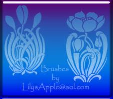 19 PS Brush Nouveau Decor by LilysApple