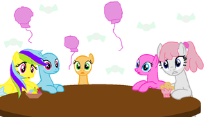 collab pony time party by ElementOfGaming