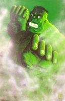 HulK fist of rage by Croustymatt