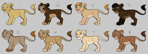 TLK Cub Adopts (2/8 Open) by HP-Adopts