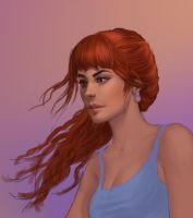 Bree sketch by JuneJenssen