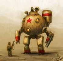 Chinese Type-39 Battle Mech by JakeParker