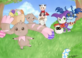 Digimon Heroes contest by July-MonMon