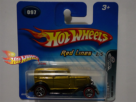 FORD DELIVERY 1932 GOLD by idhotwheels