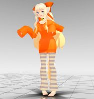 CarleighE House Cat SeeU MMD download by Reon046