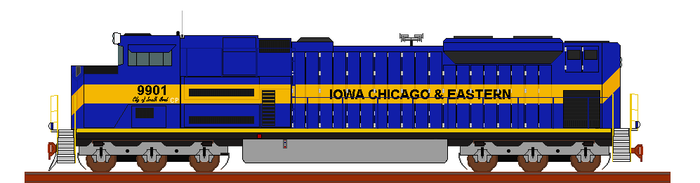 fictional ICE SD70ACe by wolvesone