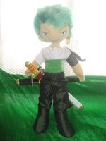 Zoro plushie by Rens-twin