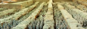 Boundless terracotta army by Lai-Wei