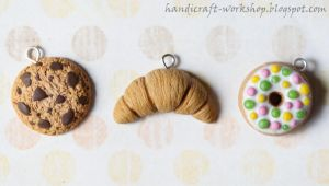 Fake food charms by Panna-Kot