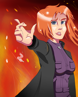 :AT:Scarlet flame by Blumestien