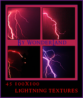 45 Lightning Texture Bases by Foxxie-Chan