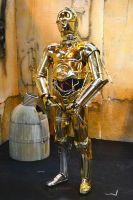 C3PO Cosplay at Birmingham Comic-Con 2013 (5) by masimage