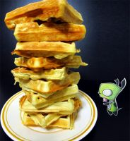 The Tower of Waffles by goRillA-iNK