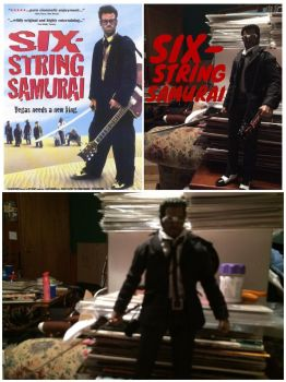 Six-String Samurai Custom Action Figure Pic Set 1 by GeekWithClip-Ons