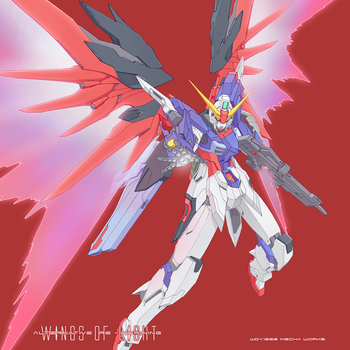 ARD Destiny Gundam by wdy1000