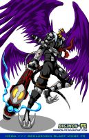 Mega - Beelzemon Blast Mode FR by Digimon-FR