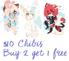 Chibi commissions [closed] by Rainbowstarrs