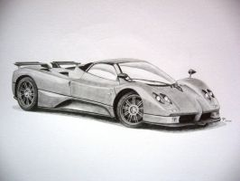 -Pagani Zonda S Roadster- by under18carbon