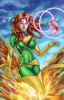 Jean Grey by SachaLefebvre