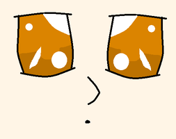 my eyes in anime by Animallover08