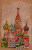 St Basils Cathedral by 80sdisco