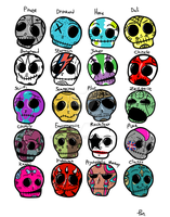 Project: Skullz by KinkySkull