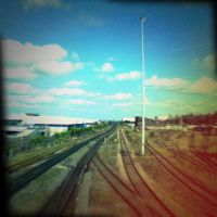 Holga 10 - Railway Lines by uselessdesires