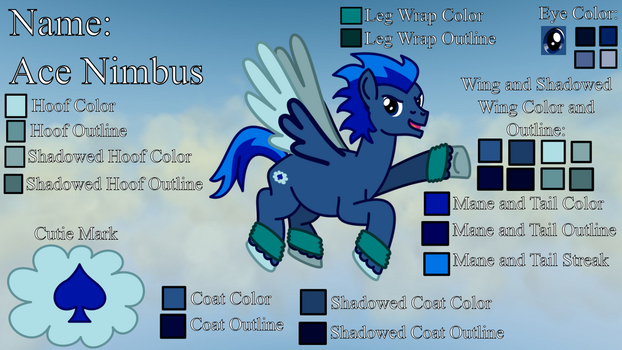 MLP Ace Nimbus Reference Picture by WildDancer101