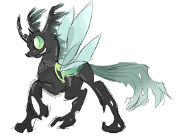 Changeling OC: Odonata by theperfecta