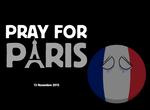 Pray for Paris by ZeFrenchM