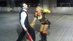 Yang and Junior Cosplays I made for Youmacon 2013 by Tejnin