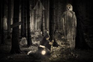 In The Cemetery Morgue by gocer-art