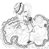 Lady Phantomhive WIP by Sarah-in-a-bonnet