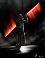 Darth Maul by gerky-art