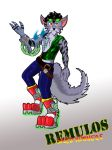 Speed Runners -Remulos- by Dragon-Furry