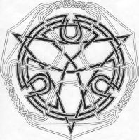 Celtic Knot 1 by one-rook