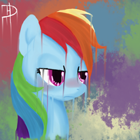 Rainbow Dash My Commander by Derpington-M-Hooves