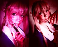 Gasai Yuno cosplay by Tenori-Tiger