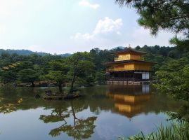 Kinkakuji Kyoto by SheltieWolf