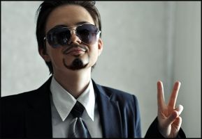 Tony Stark cosplay 2 by rosenrotFreiherr