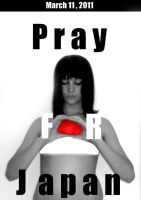 Pray for Japan 2 by Betsu-Myah