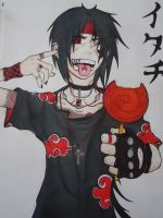 RoCkEr Itachi Uchiha by AriaxCantabile