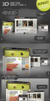 3D Web Display Pack 2 by Kamarashev
