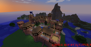 Castle Rin 'Minecraft' by NiegelvonWolf