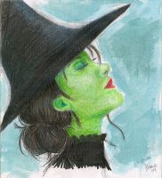 Elphaba by hannahisabelle