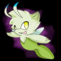 Celebi aka Mews X friend by Sonic201000