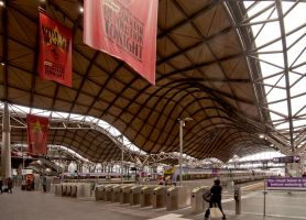 Southern Cross Station by Tiberius47